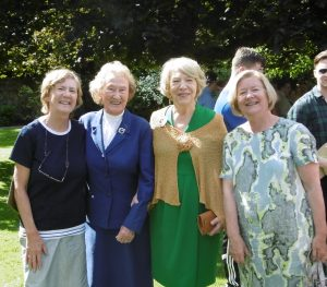 Some Marlay Ladies at St Enda's - Rachel, Sr. Margaret, Mrs Higgins and Jessica